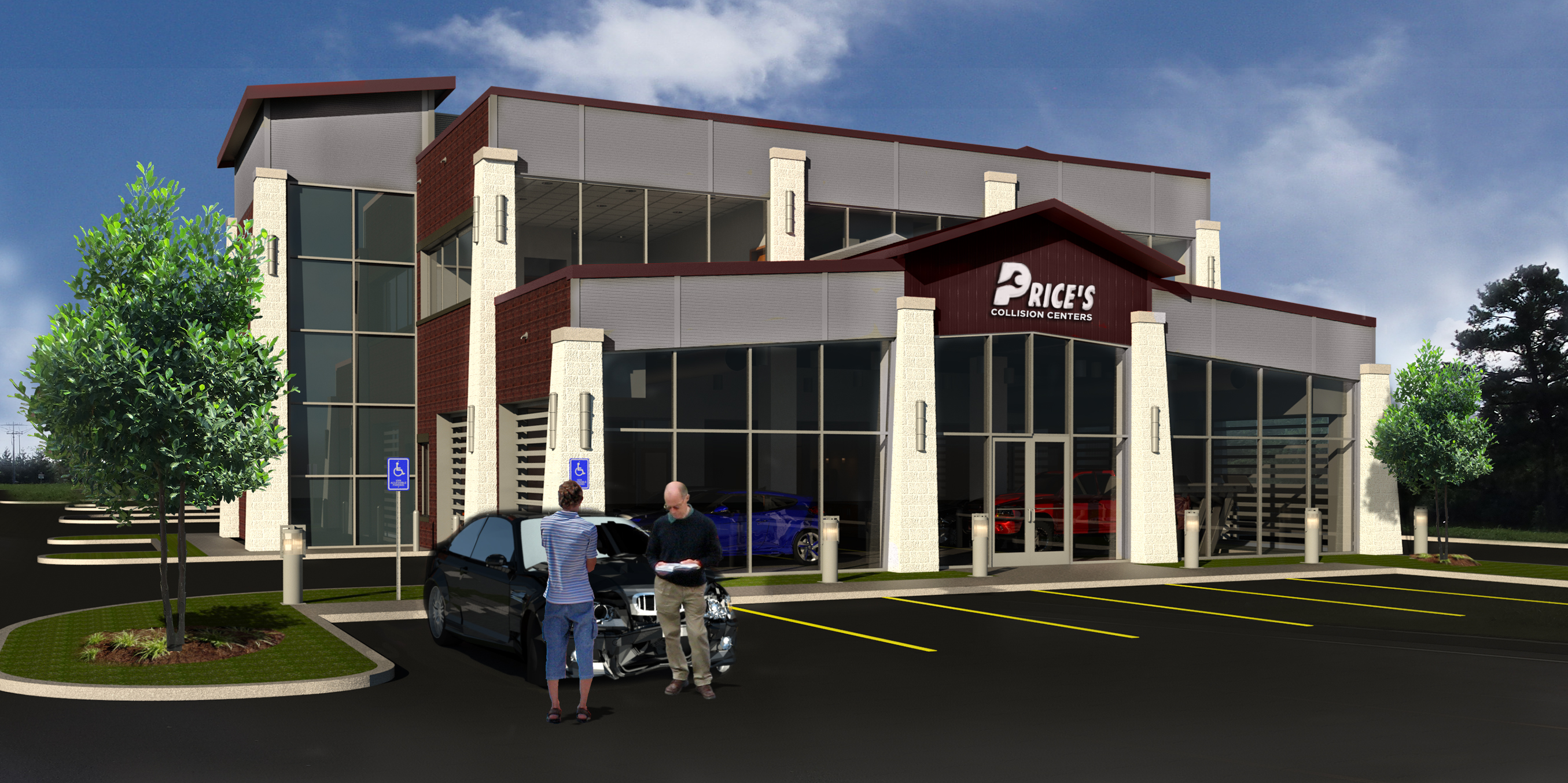 Prices Collision Center Rendering 09-16-15